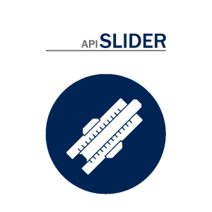 API Slide Ruler