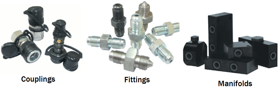 MANIFOLD, FITTINGS & COUPLINGS